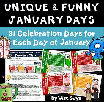 January Calendar Activities